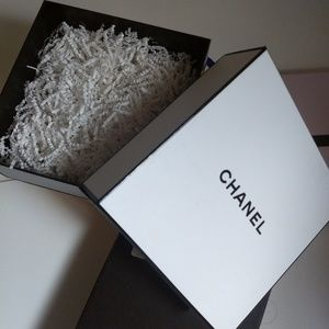 authentic Chanel Empty fragrance box